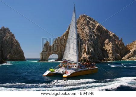 Catamaran At Los Arcos