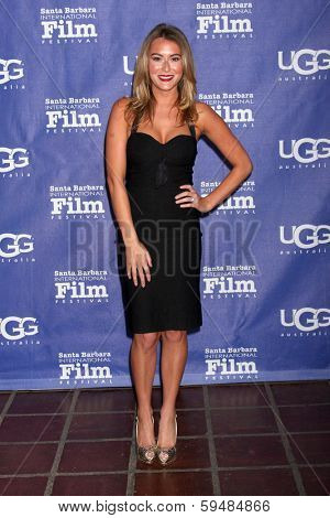 SANTA BARBARA - FEB 5:  Alexa Vega at the Santa Barbara International Film Festival Honors Oprah Winfrey at Arlington Theater on February 5, 2014 in Santa Barbara, CA