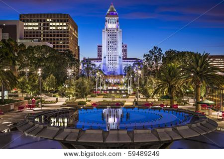 Los Angeles, California at City Hall.