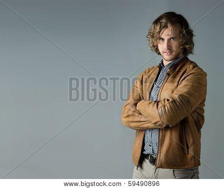 Handsome Caucasian Man