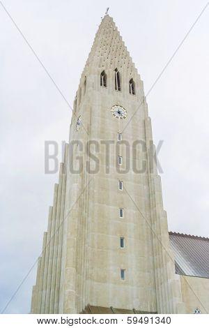 Hallgrimur Church In Reykjavic