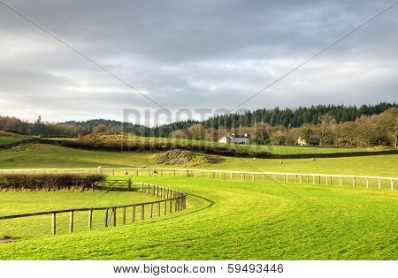 View of Cartmel Racecourse