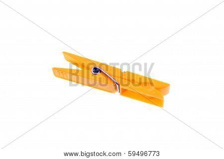 Yellow Clothes Peg