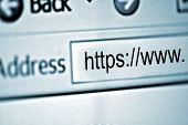 Closeup : Secure Website : WWW