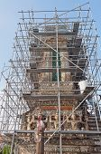 Restoration Of Wat Arun (temple Of Dawn)