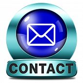 contact address icon  Write or mail address email or postbus coordinates