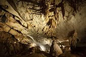 stock photo of gunung  - Limestone cave at Gunung Mulu national park malaysia - JPG