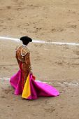 foto of bullfighting  - a bullfighter in a festival in Madrid - JPG