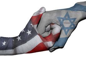 pic of israel people  - Diplomatic handshake between countries - JPG