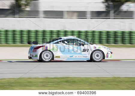 Peugeot Rcz Cup Race Car