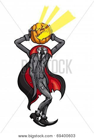 Halloween Headless Pumpkin Jack