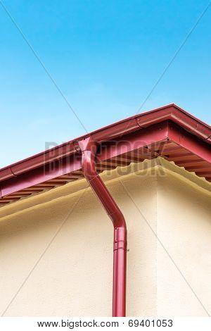 Rooftop Gutter