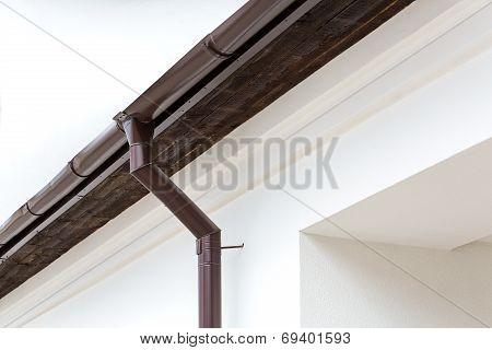 Gutter And Drainpipe