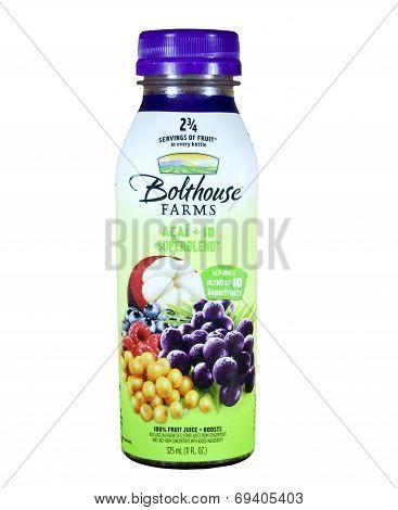 Bottle Of Bolthouse Farms Superblend Juice