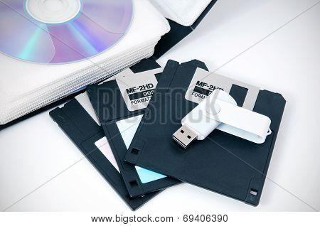 Several Types Of Storage Media
