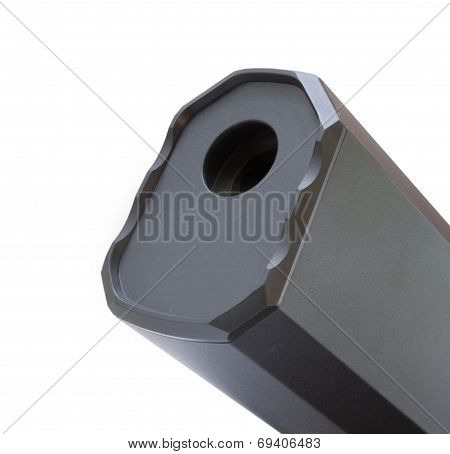 Business End Of A Silencer