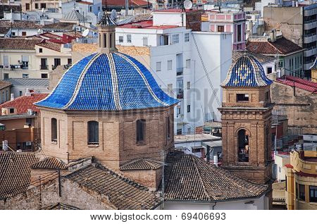 Old buildings in Valencia