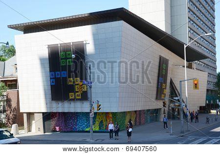 Bata Shoe Museum In Toronto, Canada