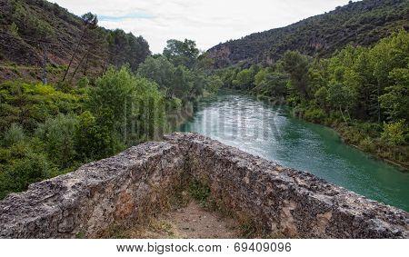 Old Bridge Of Aunon