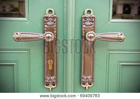 Ornamental Door Handles