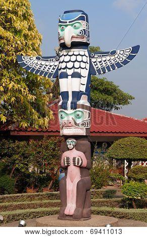 Totem In Mini Siam Park