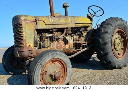Construction Battalion Tractor
