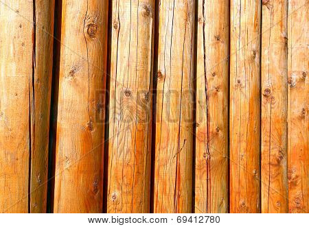 Background Of Log Stockade