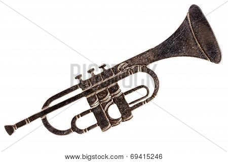 Trumpet Shaped Brooch