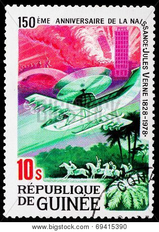 Post Stamp From Guinea
