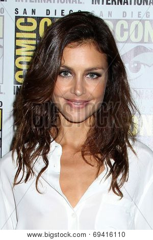 SAN DIEGO - JUL 25:  Hannah Ware at the