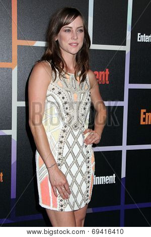 SAN DIEGO - JUL 26:  Jessica Stroup at the Emtertainment Weekly Party - Comic-Con International 2014 at the Float at Hard Rock Hotel San Diego on July 26, 2014 in San Diego, CA