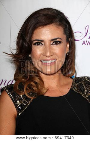 LOS ANGELES - AUG 1:  Naibe Reynoso at the Imagen Awards at the Beverly Hilton Hotel on August 1, 2014 in Los Angeles, CA