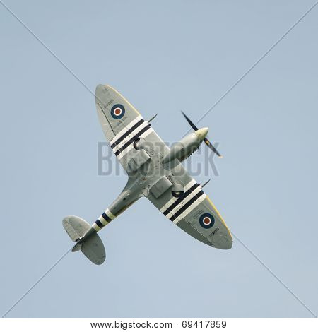 Spitfire In Flight