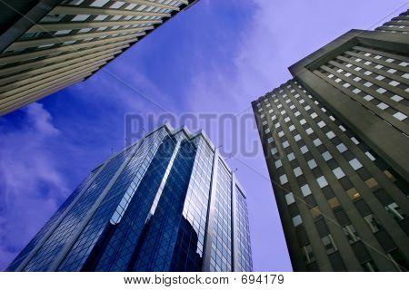 Innenstadt Bürogebäuden