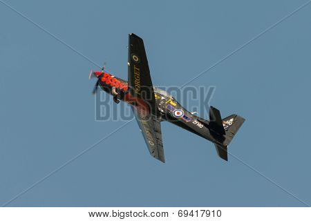 Raf Tucano Trainer Aircraft