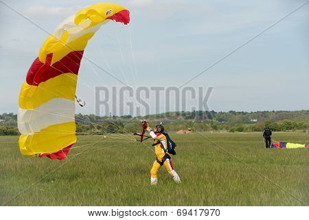 Free Fall Parachutist