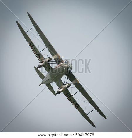 Dragon Rapide Biplane