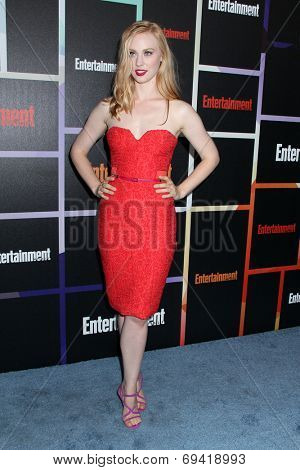 SAN DIEGO - JUL 26:  Deborah Ann Woll at the Emtertainment Weekly Party - Comic-Con International 2014 at the Float at Hard Rock Hotel San Diego on July 26, 2014 in San Diego, CA