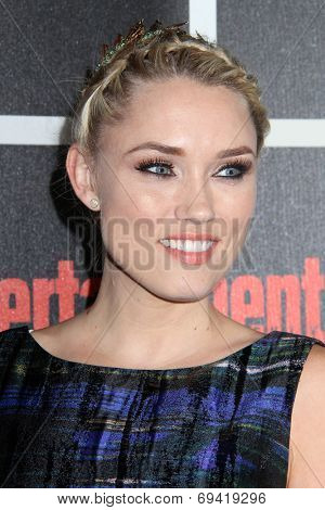 SAN DIEGO - JUL 26:  Clare Grant at the Emtertainment Weekly Party - Comic-Con International 2014 at the Float at Hard Rock Hotel San Diego on July 26, 2014 in San Diego, CA