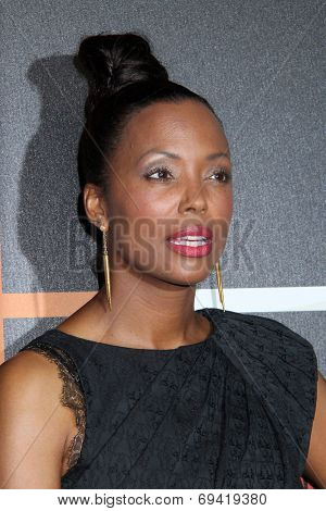 SAN DIEGO - JUL 26:  Aisha Tyler at the Emtertainment Weekly Party - Comic-Con International 2014 at the Float at Hard Rock Hotel San Diego on July 26, 2014 in San Diego, CA