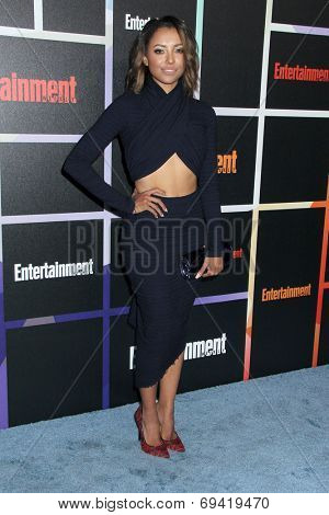 SAN DIEGO - JUL 26:  Kat Graham at the Emtertainment Weekly Party - Comic-Con International 2014 at the Float at Hard Rock Hotel San Diego on July 26, 2014 in San Diego, CA