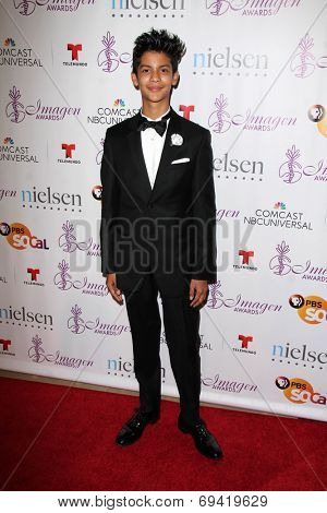 LOS ANGELES - AUG 1:  Xolo Mariduena at the Imagen Awards at the Beverly Hilton Hotel on August 1, 2014 in Los Angeles, CA