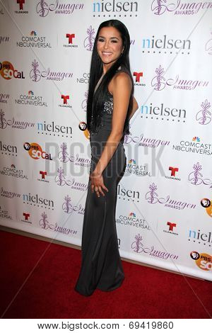 LOS ANGELES - AUG 1:  Emily Rios at the Imagen Awards at the Beverly Hilton Hotel on August 1, 2014 in Los Angeles, CA