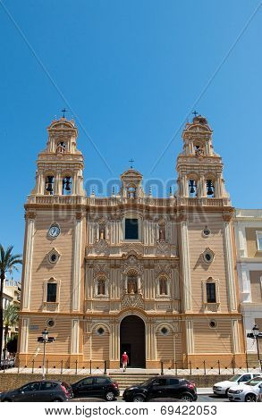 Huelva Cathedral. Andalucia, Spain