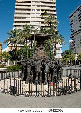 Virgen Del Rocio Monument. Huelva, Andalucia. Spain