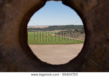 Landscape From Zorita De Los Canes Castle