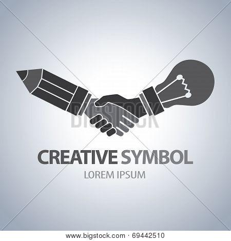 Creative And Idea Symbol