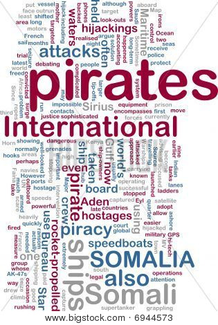 Somali Piraterie wordcloud