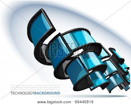 Nice Vector Technology background
