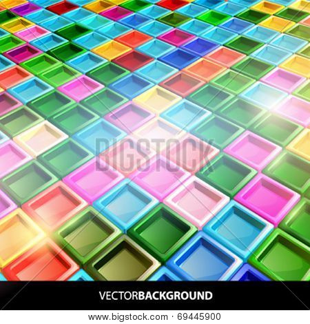 VECTOR CANDY CUBES